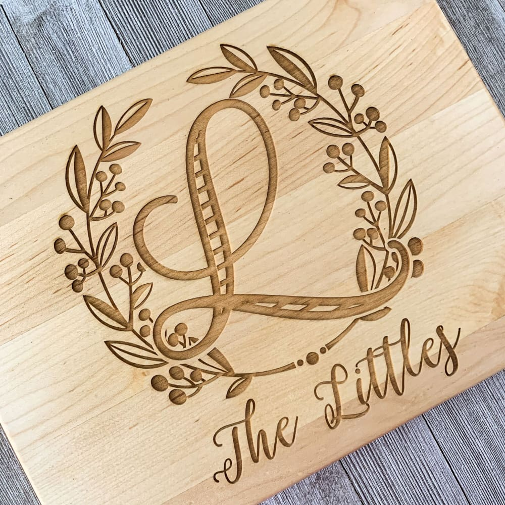 Classic Kitchen Personalized Cutting Board