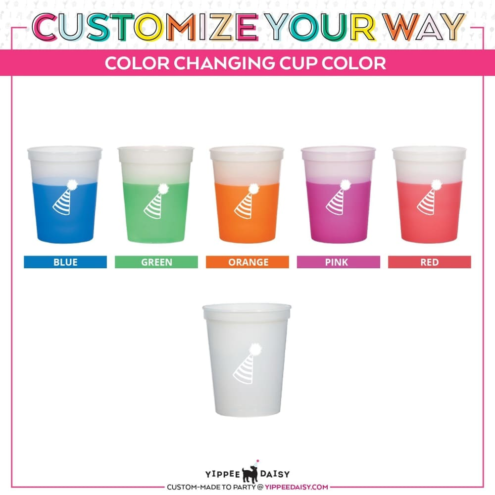 Boos For Booze Personalized Halloween Color Changing Cups - Color Changing Cup