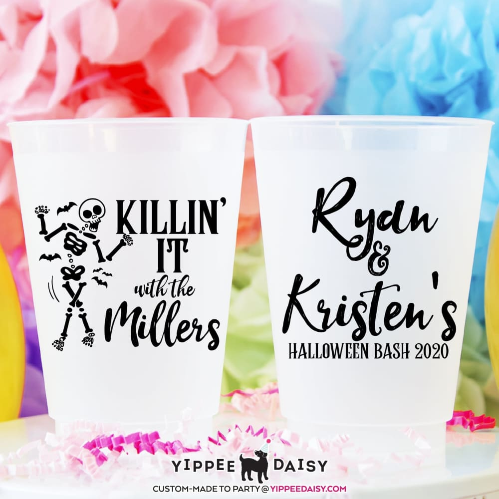 Killin It Custom Personalized Halloween Frosted Cups - Frosted Cup