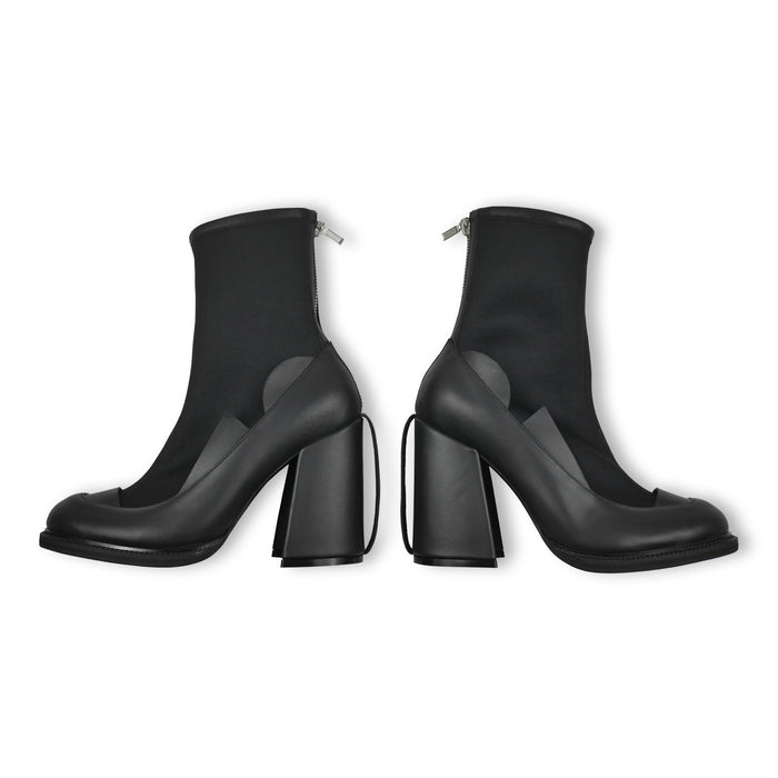 Segment Ankle Boots