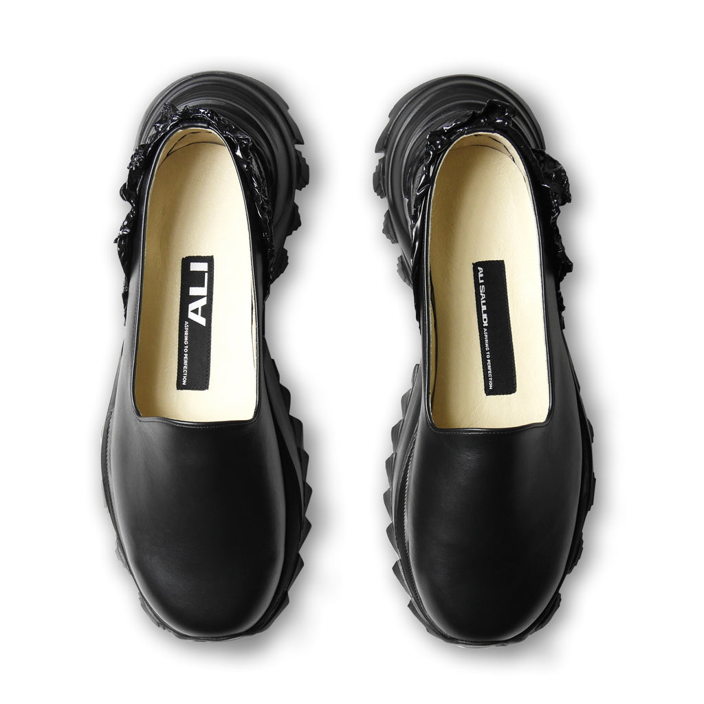 Melted Heel Loafers