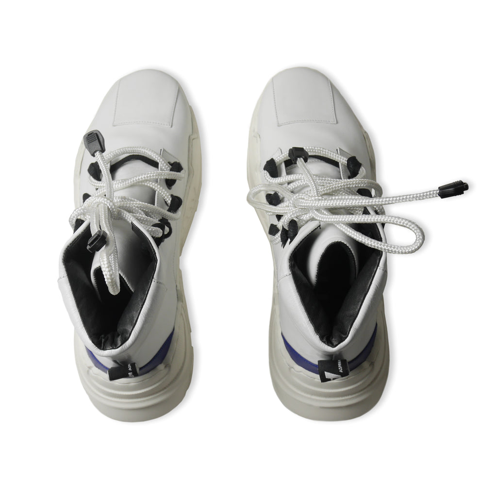 GLACIA High Sneakers White