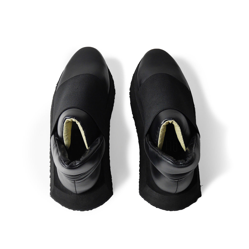 Gemini Mid Black Sneakers