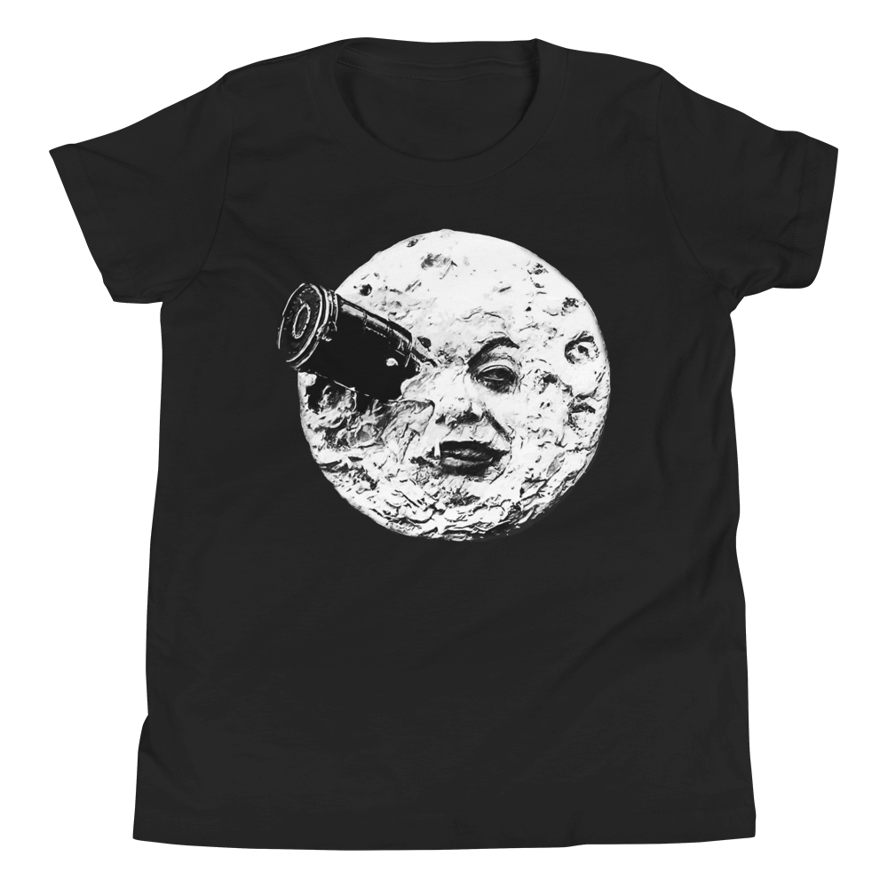 Trip To The Moon Youth Short Sleeve T-Shirt