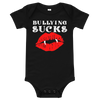 Bullying Sucks Short Sleeve Onesie
