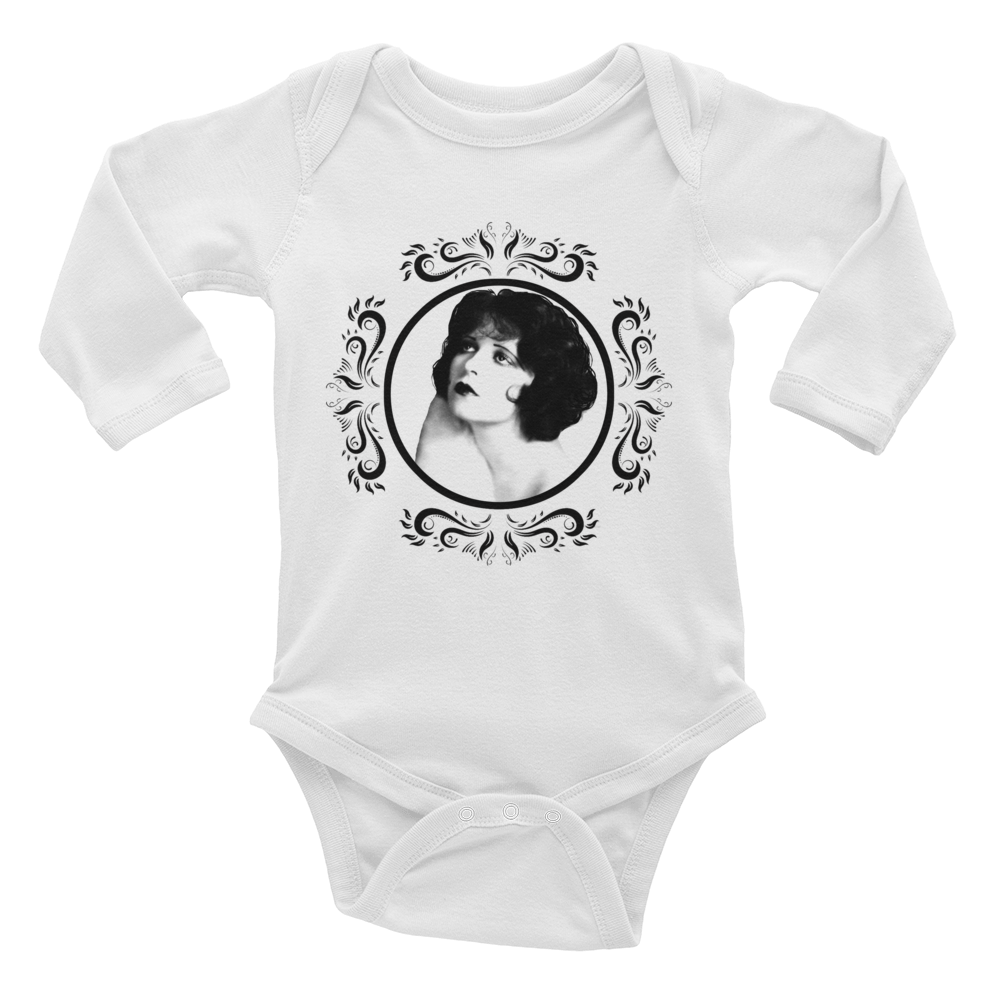 Clara Bow Infant Long Sleeve Bodysuit