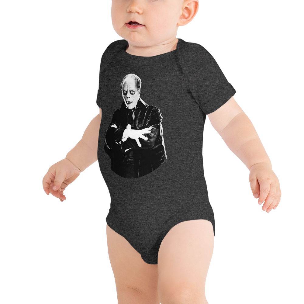 Phantom of the Opera Short Sleeve Onesie
