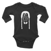 On Wednedays Infant Long Sleeve Bodysuit