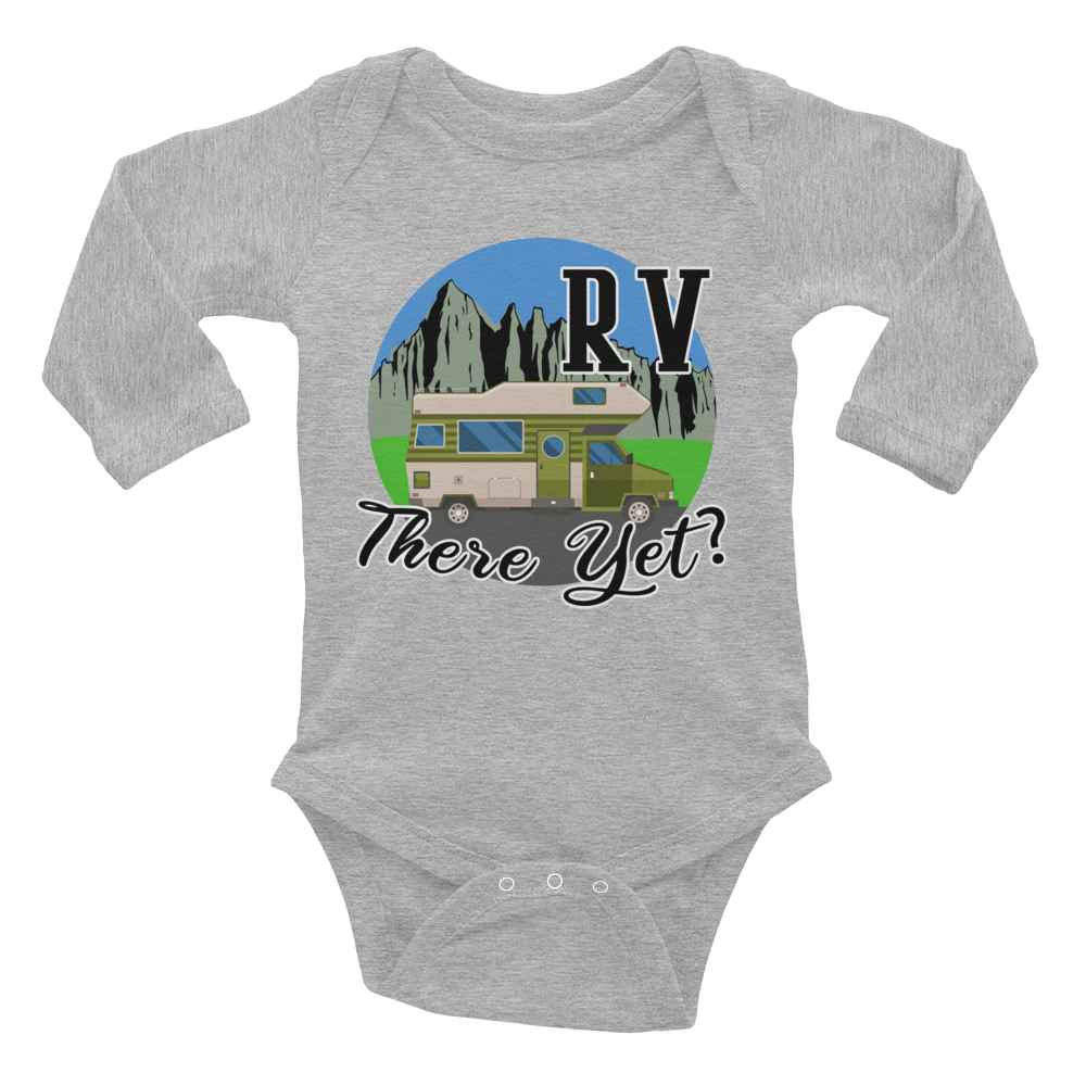 RV There Yet Infant Long Sleeve Bodysuit