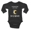Gonna Chill With The Moon Infant Long Sleeve Bodysuit