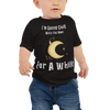 Gonna Chill With The Moon Baby Jersey Short Sleeve Tee
