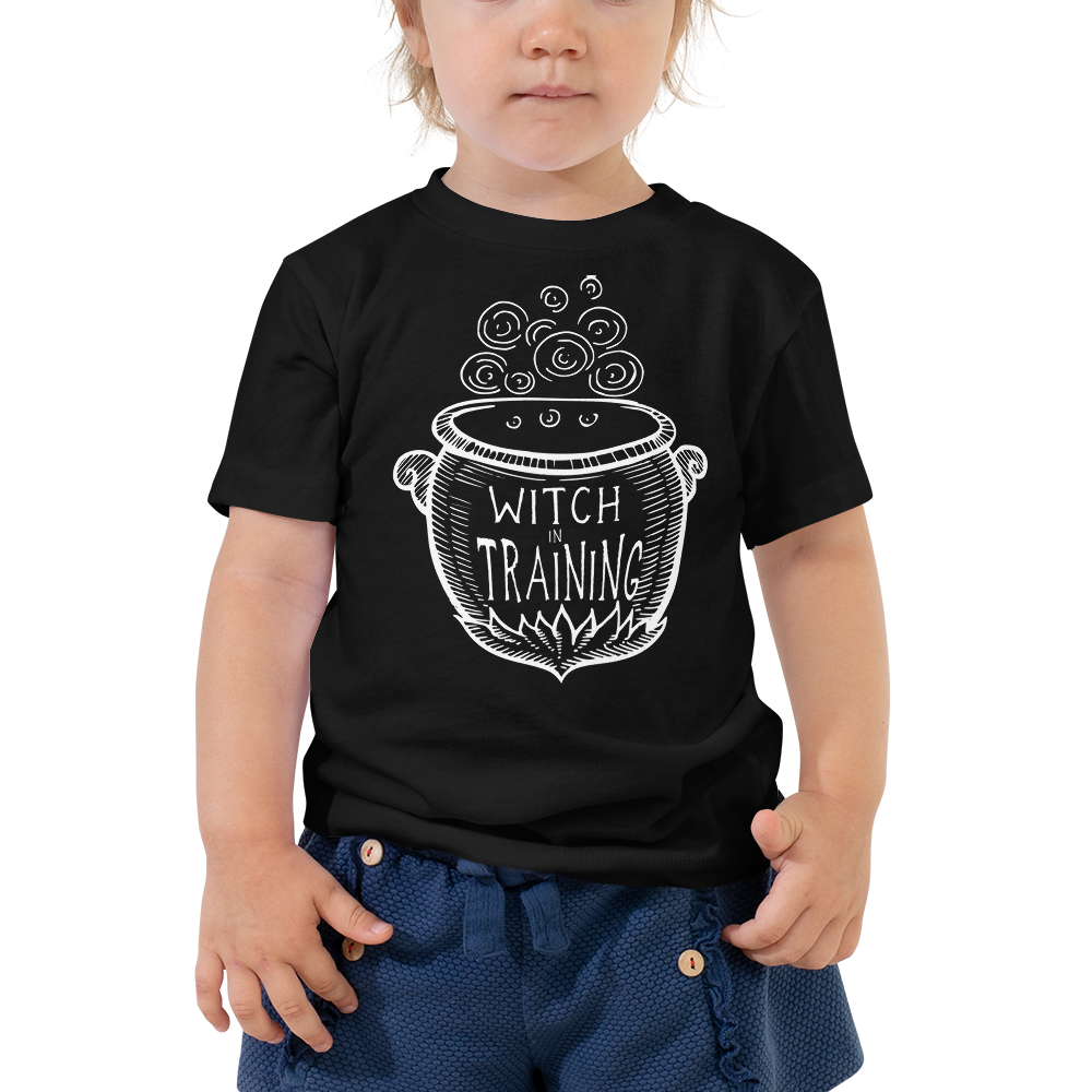 Witch In Training Toddler Short Sleeve Tee