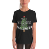 311 Days Until Halloween Youth Short Sleeve T-Shirt