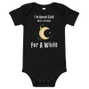Gonna Chill With The Moon Short Sleeve Onesie