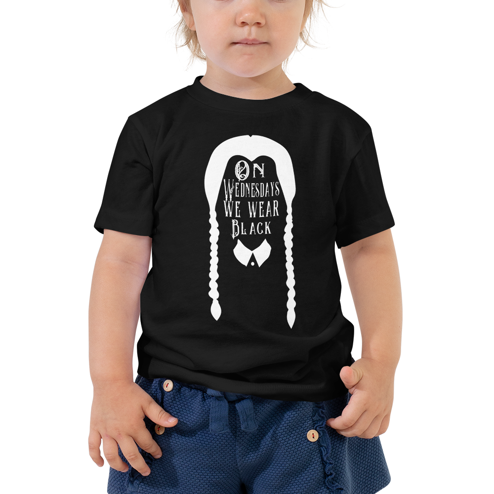 On Wednesdays Toddler Short Sleeve Tee