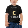 Gonna Chill With The Moon Toddler Short Sleeve Tee