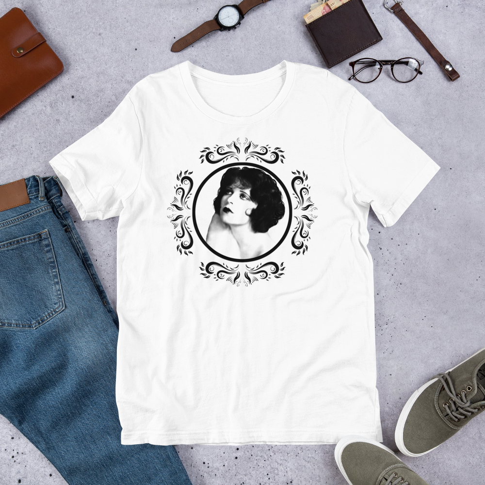 Clara Bow Adult Short-Sleeve Unisex T-Shirt