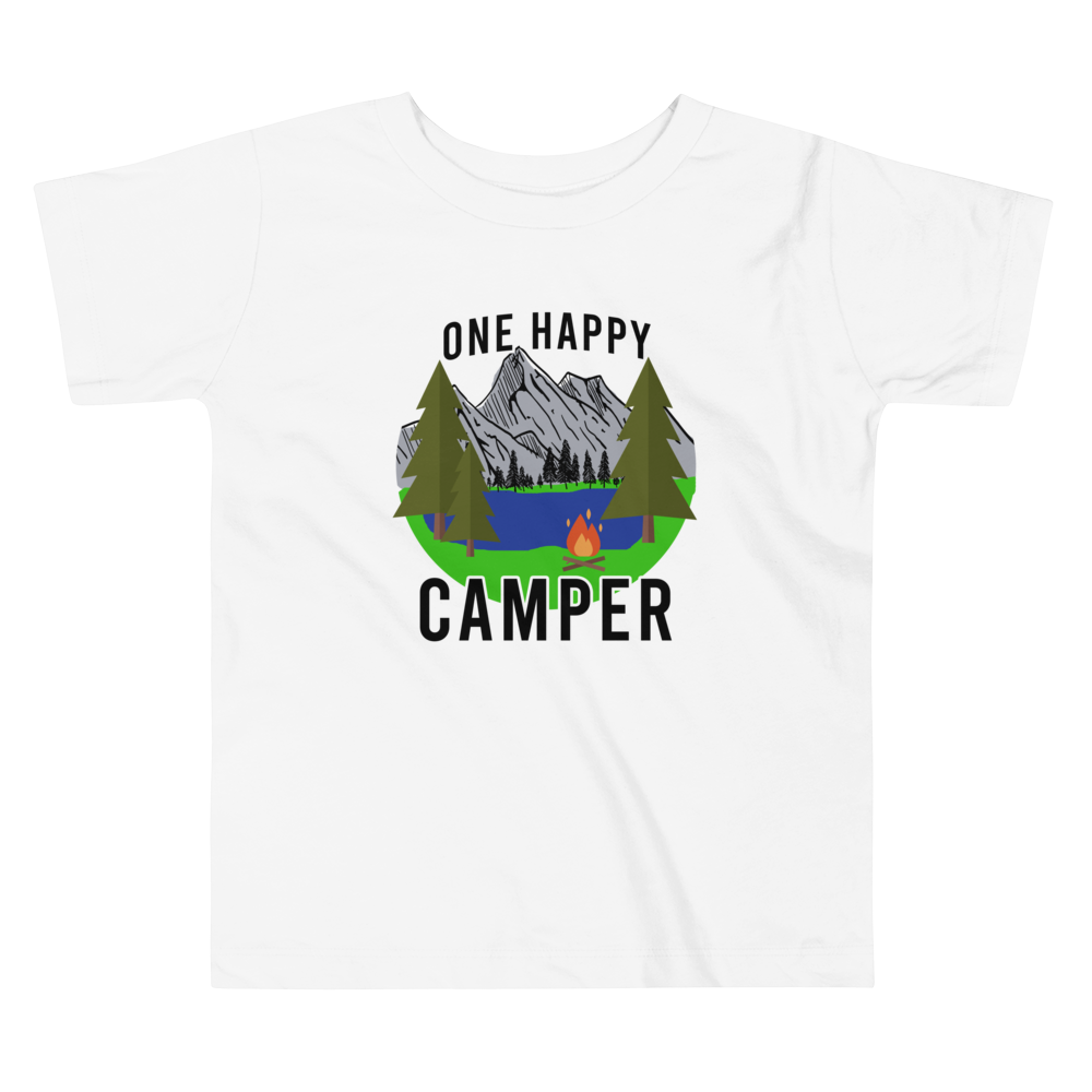 One Happy Camper Toddler Short Sleeve Tee