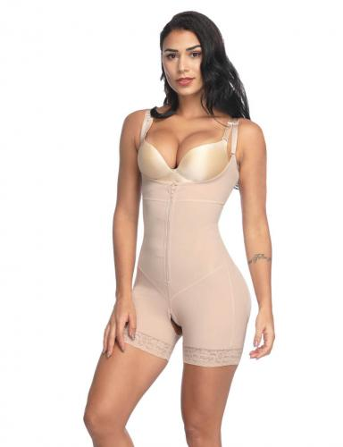 Sek Se Clip and Zip Firm Compression Bodysuit