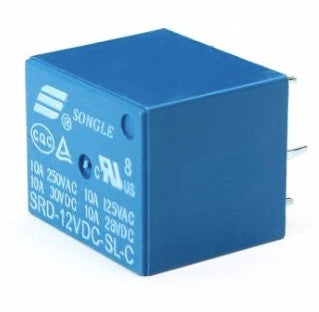 Mini 12V DC Power Relay SRD-12VDC-SL-C PCB Type
