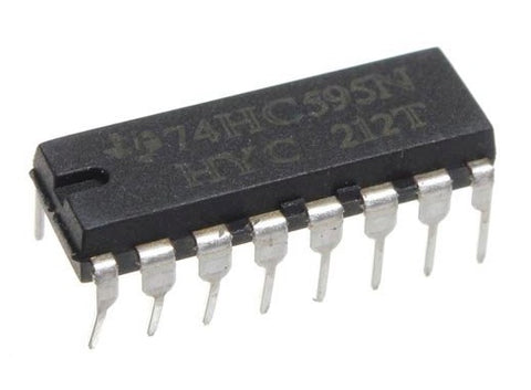 SN74HC595N 74HC595 Serial-In Parallel-Out Shift Register - 8-Bit