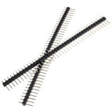 1D24-0024 40 Pin 2.54mm Single Row Male Pin Header Strip