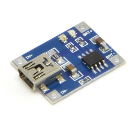 1B12A-001E Mini 5v USB 1A Lithium Battery Charging Board Charger Module