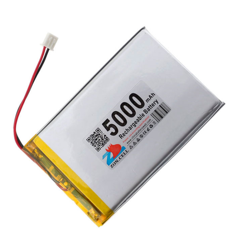 7C000C 3.7V 5000mAh Battery  With PH2.0 Connector