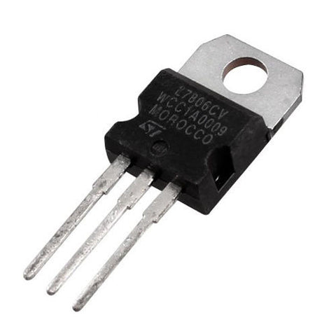 TO-220 L7806CV 1.5A 6V Positive Voltage Regulator 7806