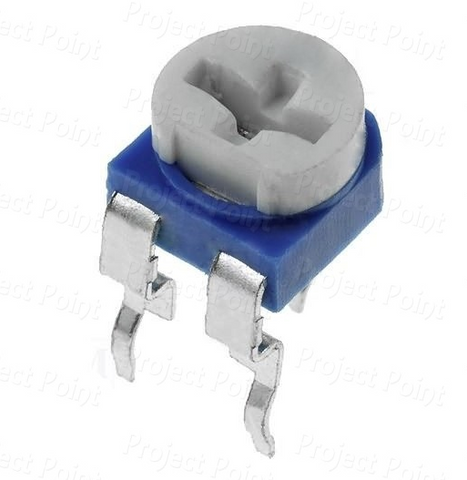 Single Turn Trimmer / Potentiometer / Variable Resistor (100K ohm)