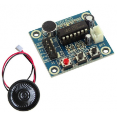 2B1   ISD1820 Sound Voice Module With Mic Sound Audio Loudspeaker