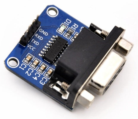 2D50005 MAX3232 RS232 to TTL Serial Port Converter Module DB9 Connector MAX232