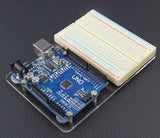 4B000 Universal Experimental Platform for Arduino UNO R3 Transparent Clear Acrylic Board