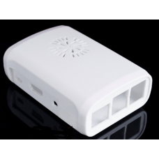 ABS case for Raspberry Pi white compatible for Fan