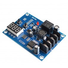 1E11   XH-M603 DC 12-24V Charging Control Module Storage Lithium Battery Charger Control Switch Protection Board With LED Display Automatic ON/OFF Real-Time Voltage Monitor