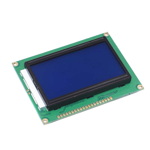 1C8B  5V 12864 LCD Display Module 128x64 Dots Graphic Matrix LCD Blue
