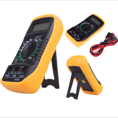 XL830L LCD Digital Multimeter ,Digital Voltmeter Ohmmeter Ammeter OHM Multimeter Tester