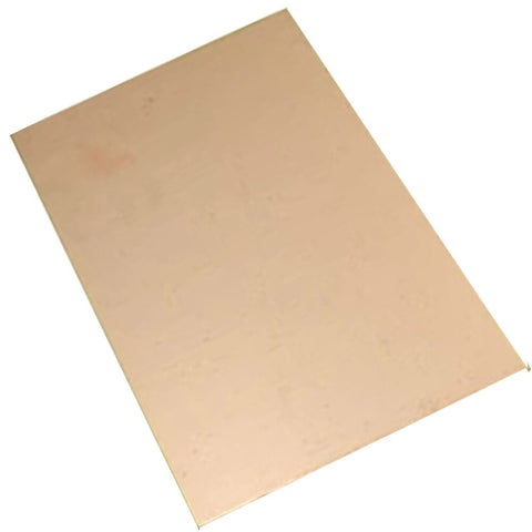 4B Single Side 10cm*15cm Blank Glass Copper Clad Plate for PCB