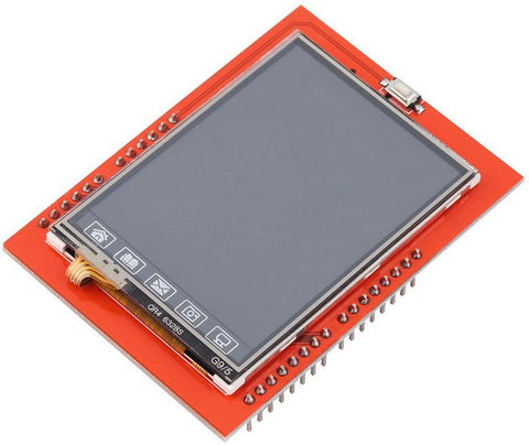 TFT LCD screen 2.4 Touch Panel Module TF Micro SD Reader For Arduino UNO R3 mega 2560