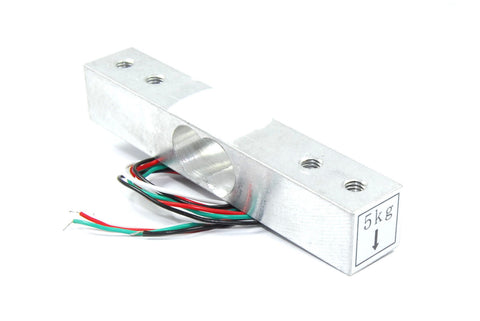 Aluminium Load Cell Sensor , Weight Sensor Module 5kg