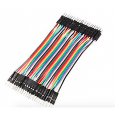 1A70007 40pcs/lot 10cm 2.54mm 1pin Male to Male jumper wire Dupont cable
