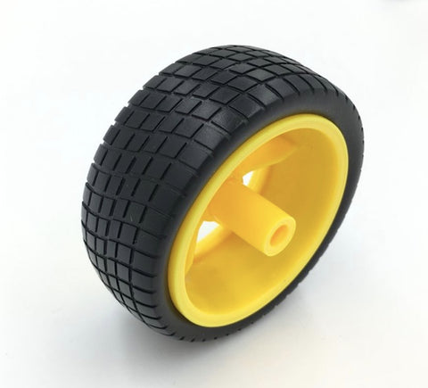 5E000E PLASTIC TIRE WHEEL