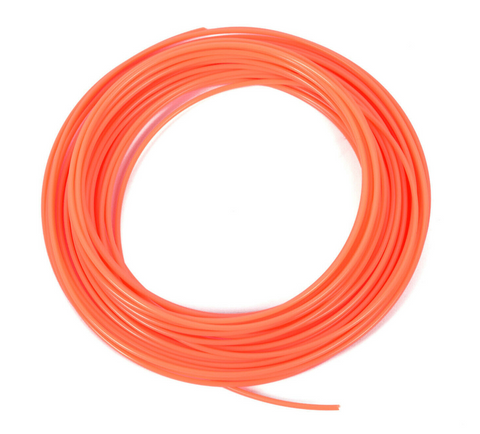 3E000L 3D PRINTER FILAMENT PLA 1.75MM, 10M PER ROLL, Orange color