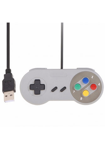 SNES game Controllers Raspberry Pi Compatible USB Gamepad