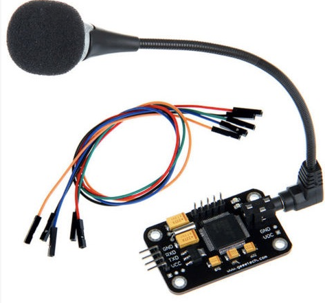 5A000G Voice Recognition Module and Microphone for Arduino