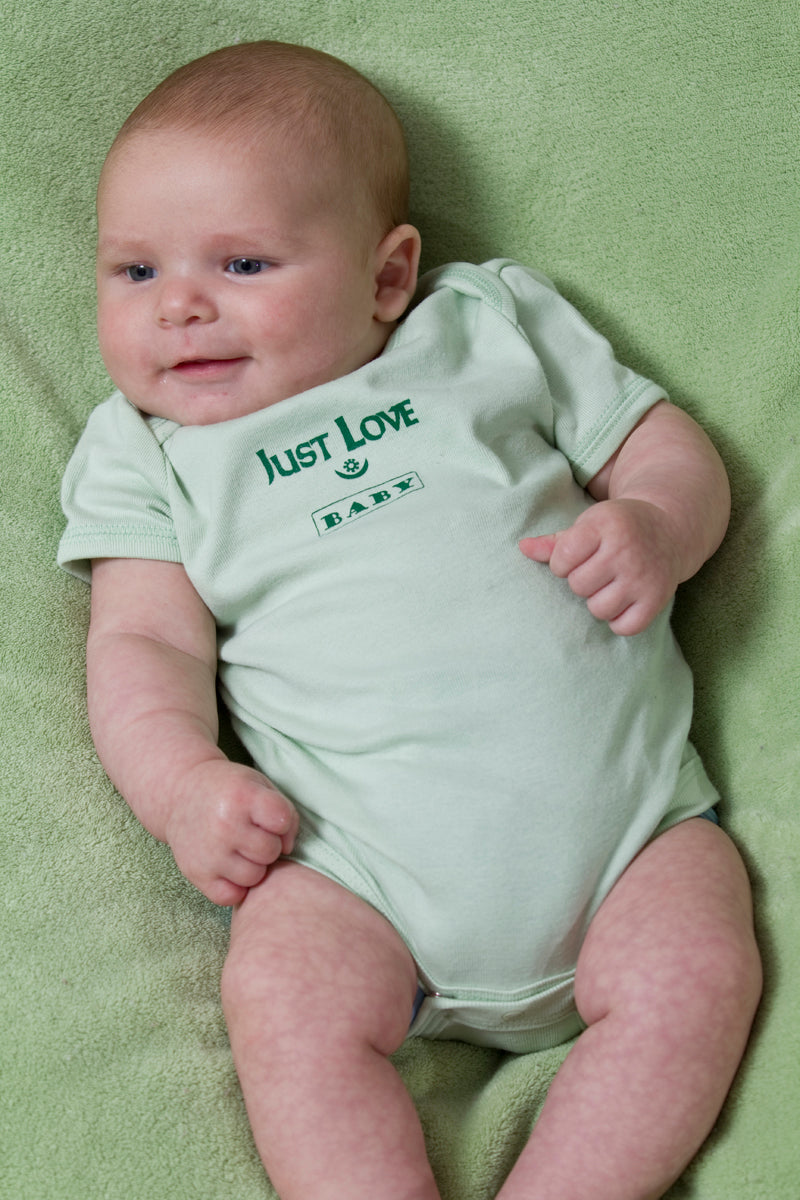 """Just Love Baby"" Short Sleeve One Piece"