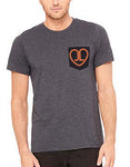 Mens Just Love Pocket Tee