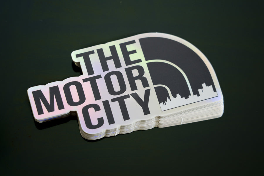 The Motor City - Sticker