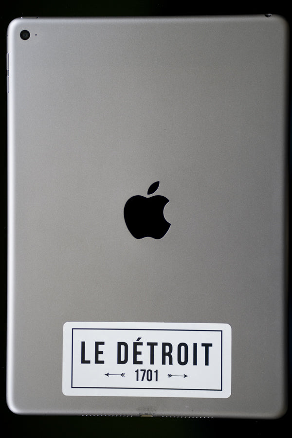 Le Détroit - Sticker