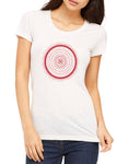 Womens Short Sleeve Mandala Tee